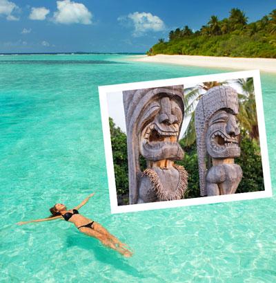 Destination Hawaii Tiki Totems